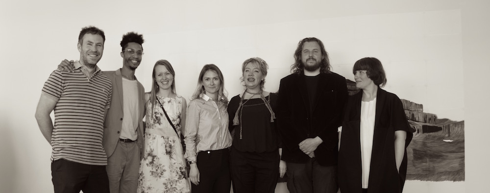 Pine Wood founder Léonie Helling with all artists